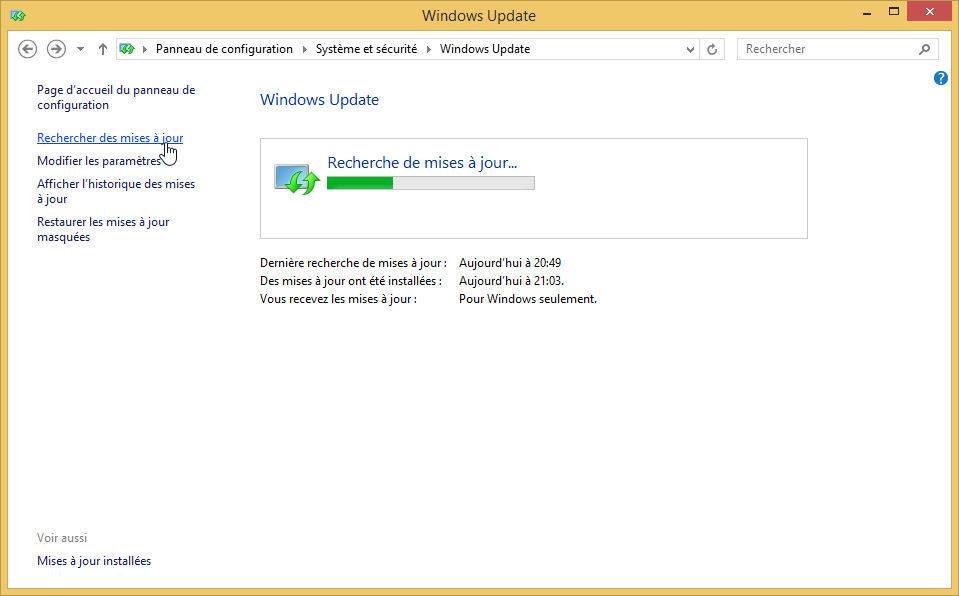 desinstaller lapplication obtenir windows 10 supprimer icone windows 10 rechercher mises a jour 3