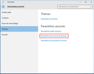 panneau de configuration windows 10