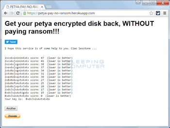 petya extractor la solution contre Petya